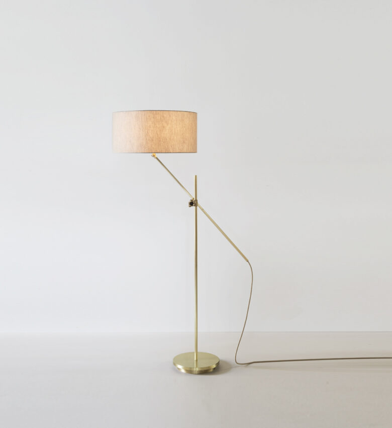 Brass-Shaded-Floor-Lamp_Angled_ON