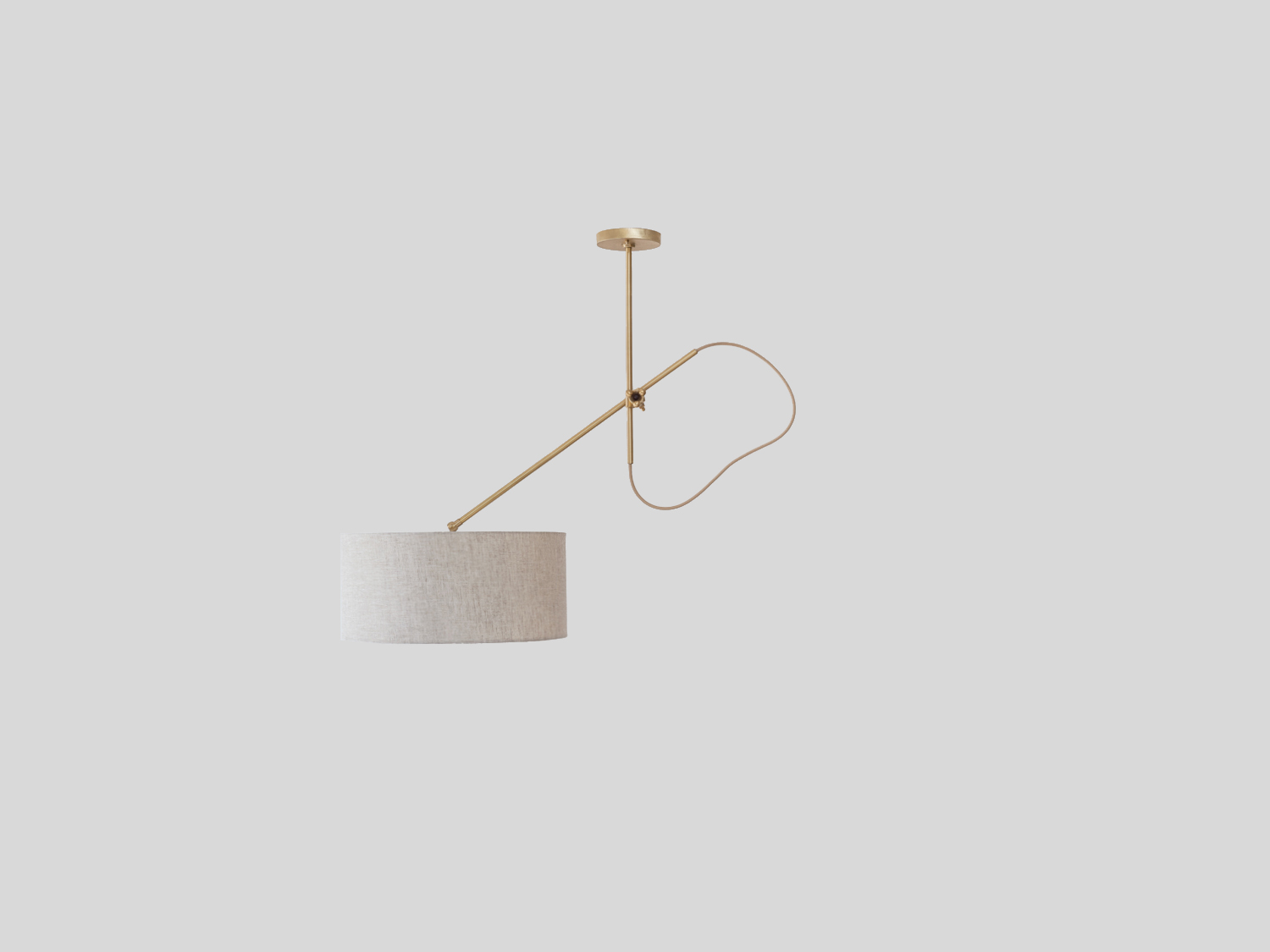 Brass-Shaded-Pendant_Angled