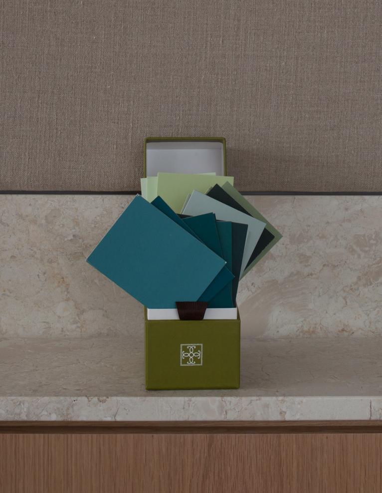 green box open